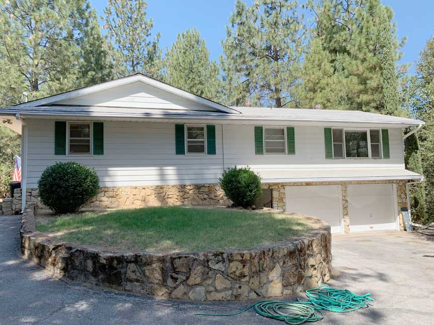 steve baker, graeme grant, Placerville realty, house for rent, home for rent, property manager, property management company, 2024 Streambed Lane - Placerville, front
