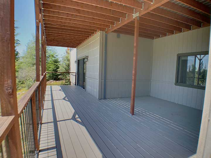 steve baker, graeme grant, Placerville realty, house for rent, home for rent, property manager, property management company, 3420 Sudbury Drive - Cameron Park, Rear Decks
