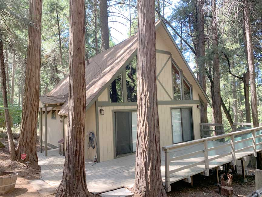steve baker, graeme grant, Placerville realty, house for rent, home for rent, property manager, property management company, 3564 Gold Ridge Trail - Pollock Pines, front