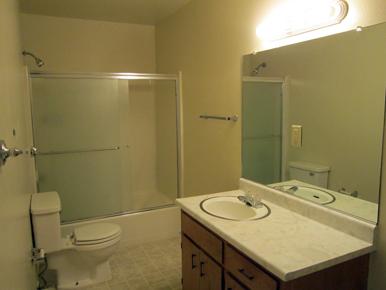 steve baker, graeme grant, placerville realty, house for rent, home for rent, property manager, property management company, 4670 Woodland Drive - Placerville, Hall Bathroom