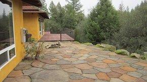 steve baker, graeme grant, placerville realty, house for rent, home for rent, property manager, property management company, 6740 Morning Canyon Road - Placerville (Somerset area), Rear Patio